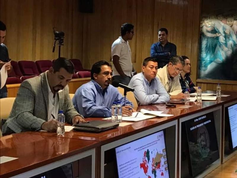 Informa Secretaría de Salud situación del coronavirus a diputados