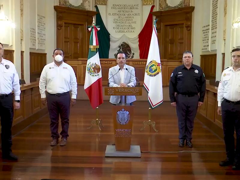 Informan resultados de operativos para reducir movilidad en Veracruz