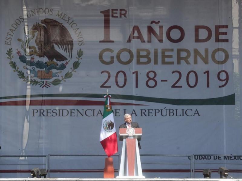 89 compromisos cumplidos: López Obrador