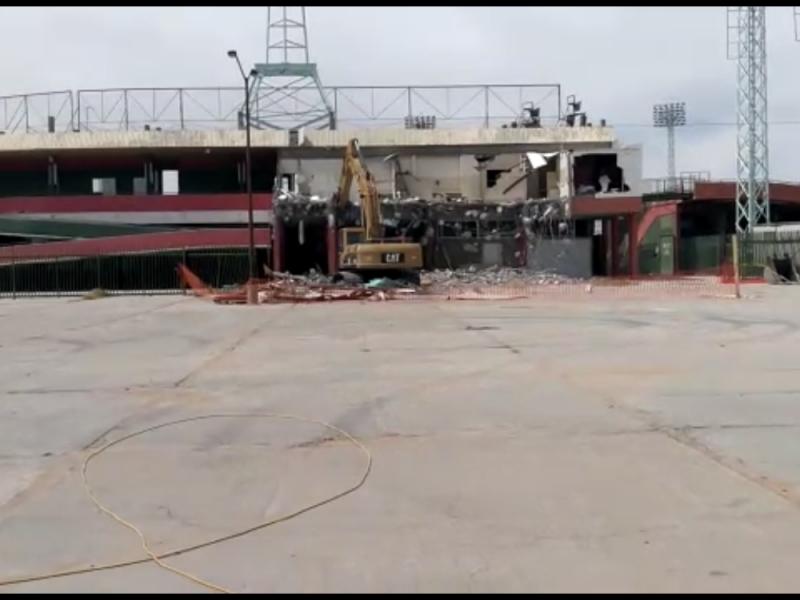 Infraestructura de Héctor Espino será remodelada no derrumbada