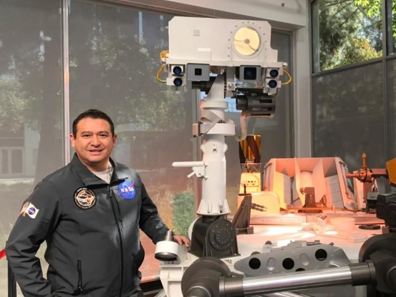 Ingeniero chiapaneco, pieza clave en la amartización del Rover Perseverance