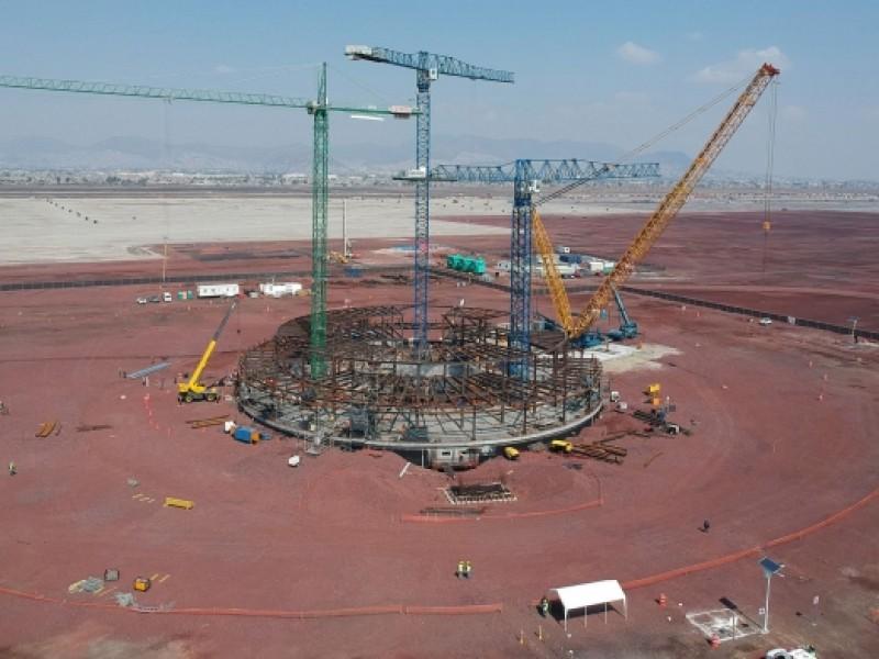 Ingenieros piden continuar construcción del nuevo aeropuerto