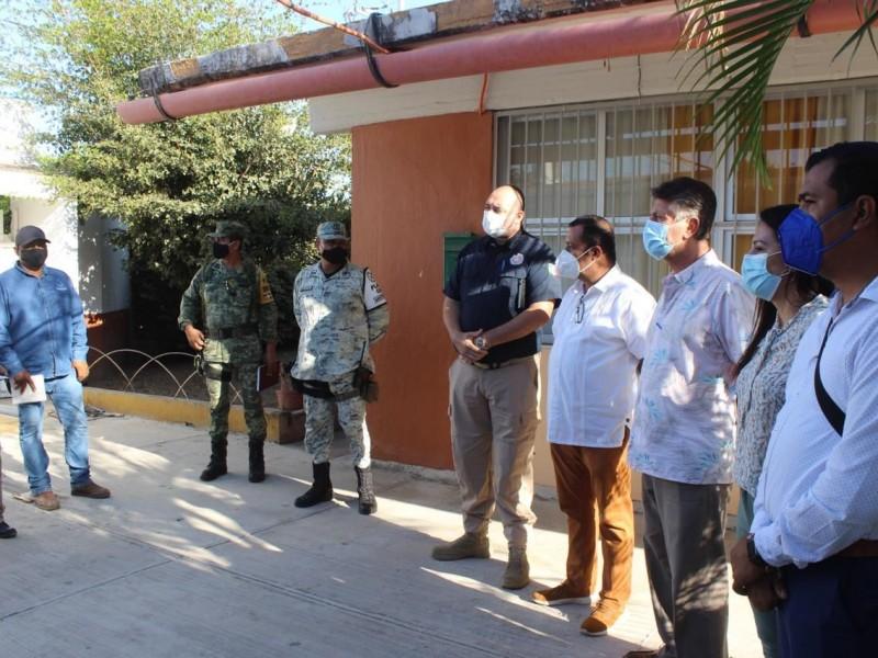 Inicia BADEBA inspección de refugios temporales previo temporada ciclónica
