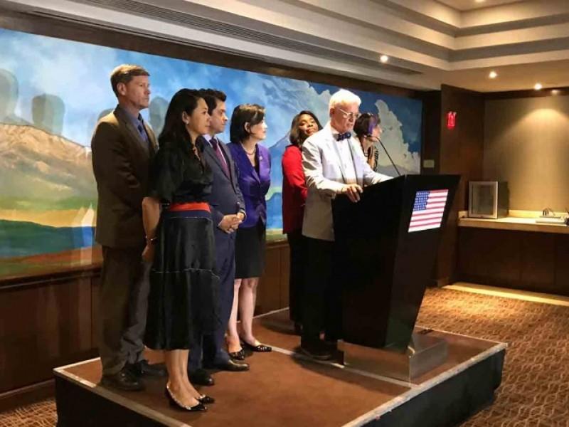Inicia bien, visita de trabajo de congresistas estadounidenses