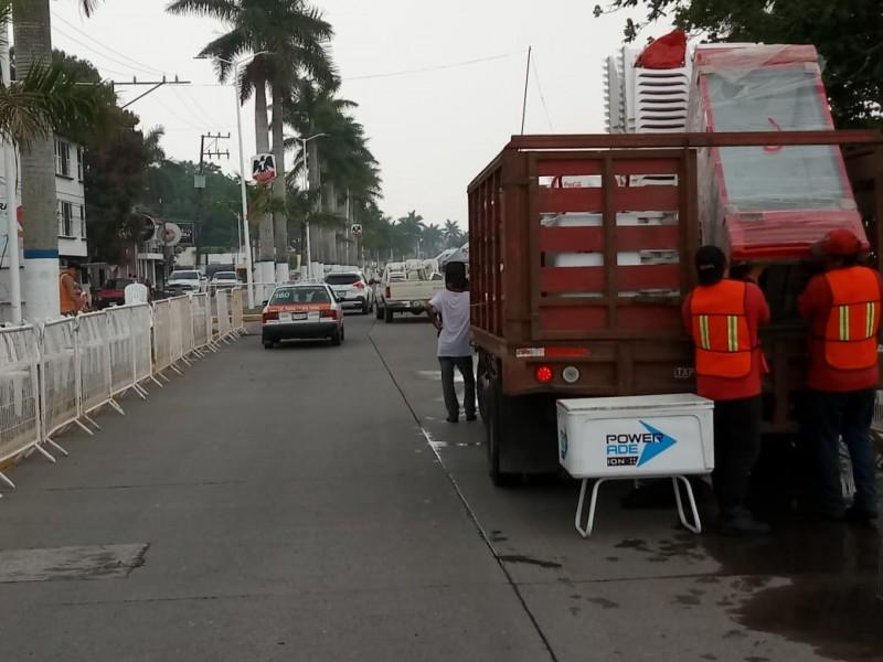 Inicia carnaval y el caos vehicular