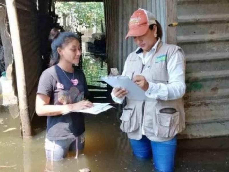 Inicia censo para conocer situación de damnificados en Tabasco