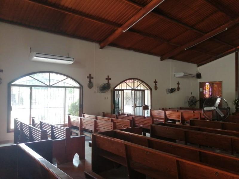 Inicia CMCOP obra eléctrica en parroquia San Francisco Javier
