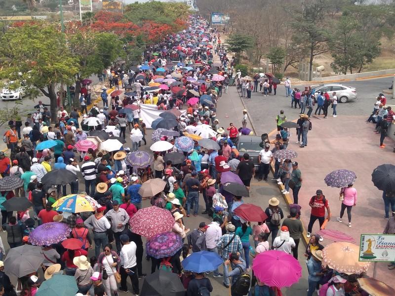 Inicia CNTE paro de 72 horas contra Reforma