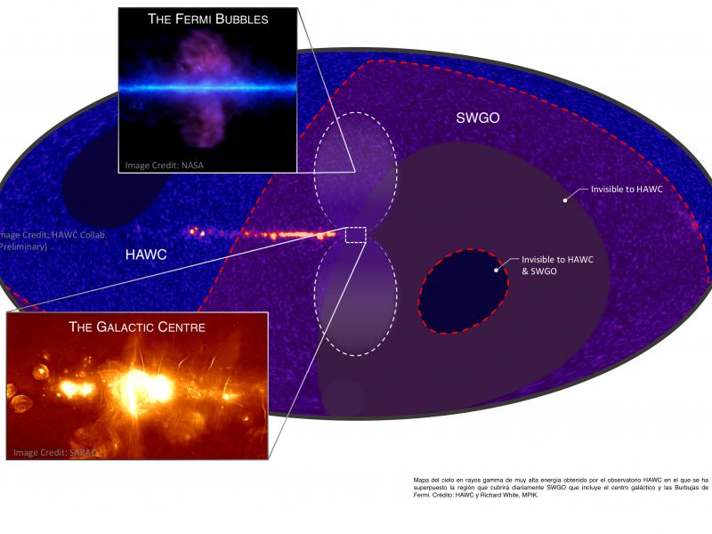 Inicia colaboración internacional para observatorio de rayos gamma