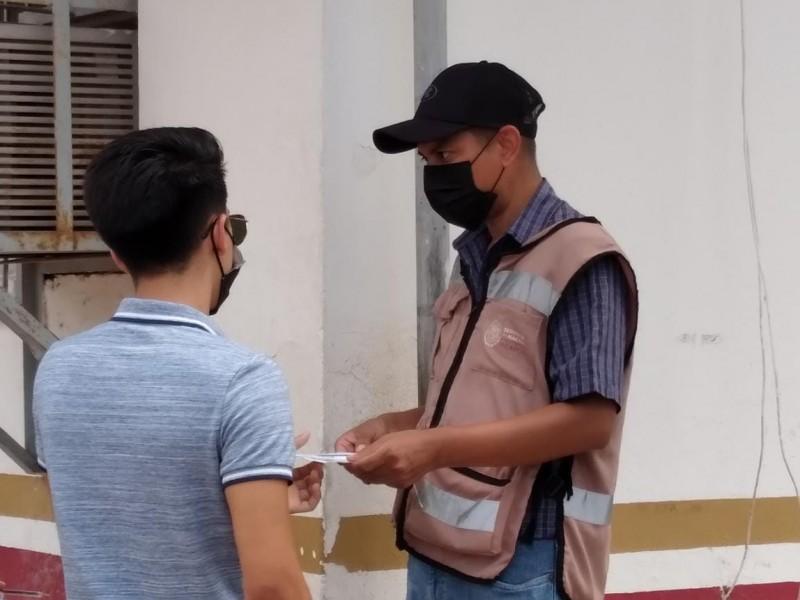 Inicia con éxito jornada de vacunación 18-39 en Empalme