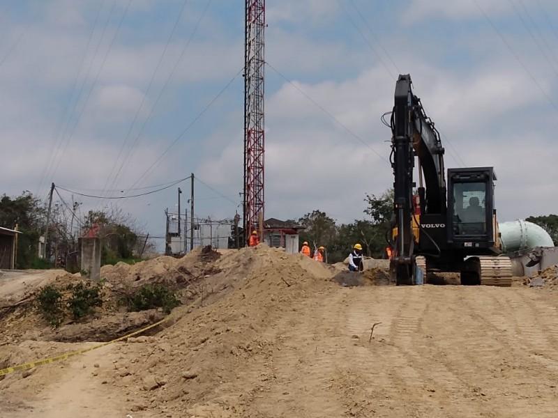 Inicia construcción de tanque de regularización en Alto Lucero