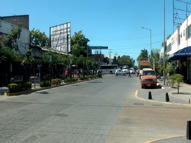 Inicia cuarentena, calles lucen desoladas en LM
