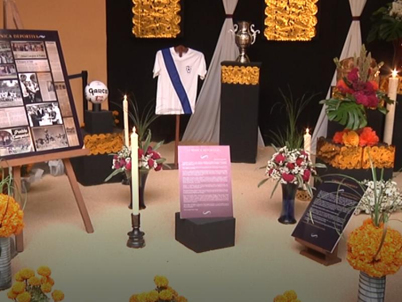 Inicia el corredor de ofrendas en Puebla