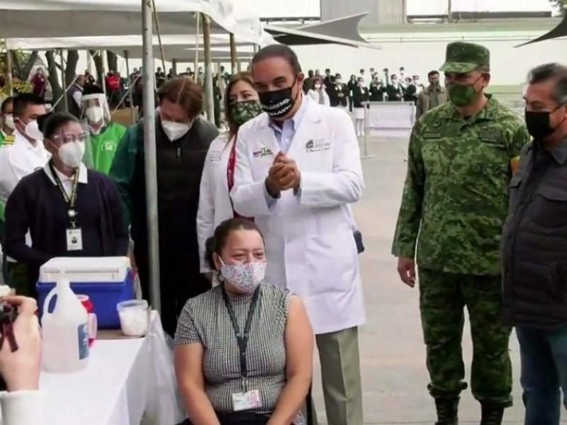 Inicia en Nuevo León la vacunación contra el Covid-19
