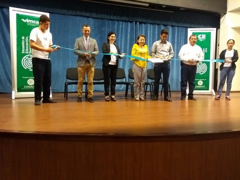 Inicia Encuentro de Educación, Tecnología e Innovación