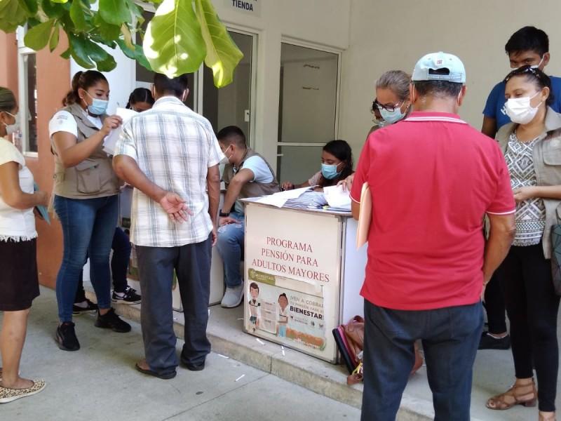 Inicia entrega de tarjetas Bienestar para adultos mayores en Zihuatanejo