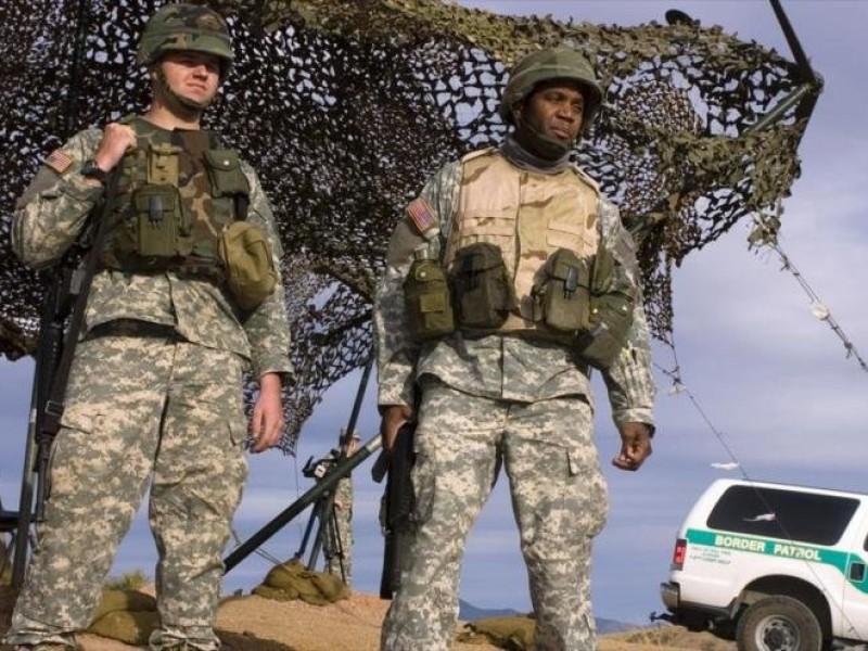 """Inicia EUA operación militar """"Patriota Fiel"""" en frontera"""