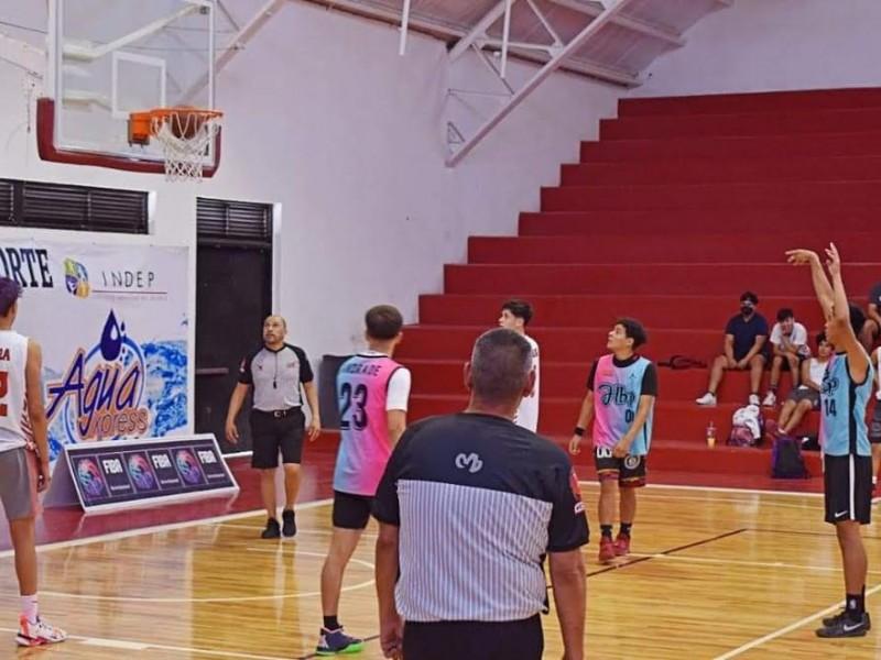 Inicia Festival Estatal Juvenil de Basquetbol en Nogales