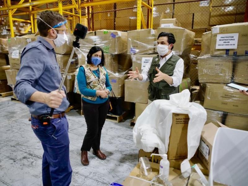 Inicia IMSS entrega de mascarillas a trabajadores