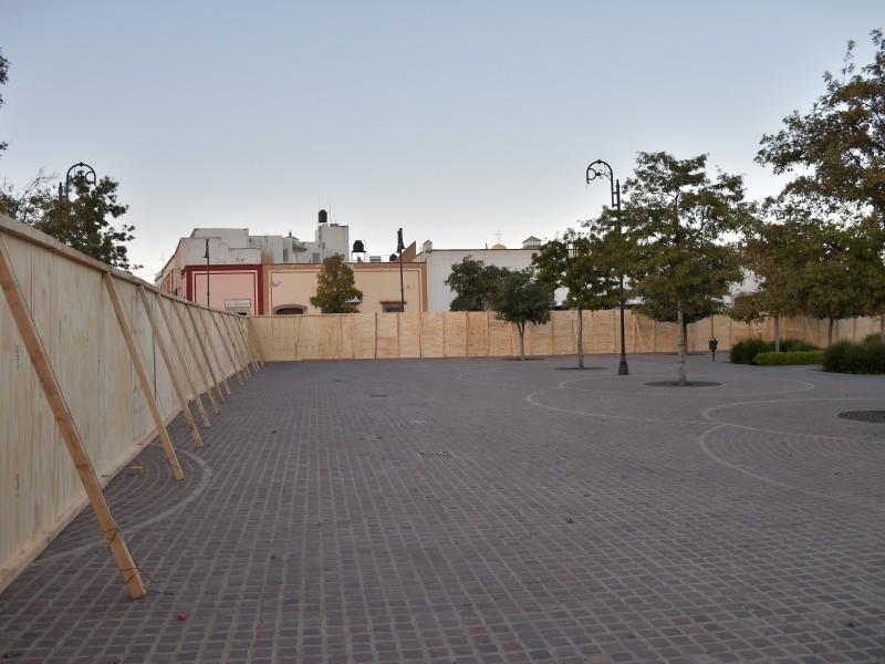 Inicia intervención en el Jardín Juárez