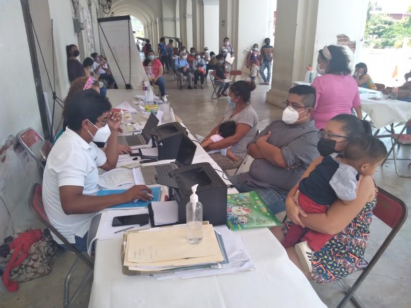 Inicia jornada de registros de nacimientos gratuito en Tehuantepec