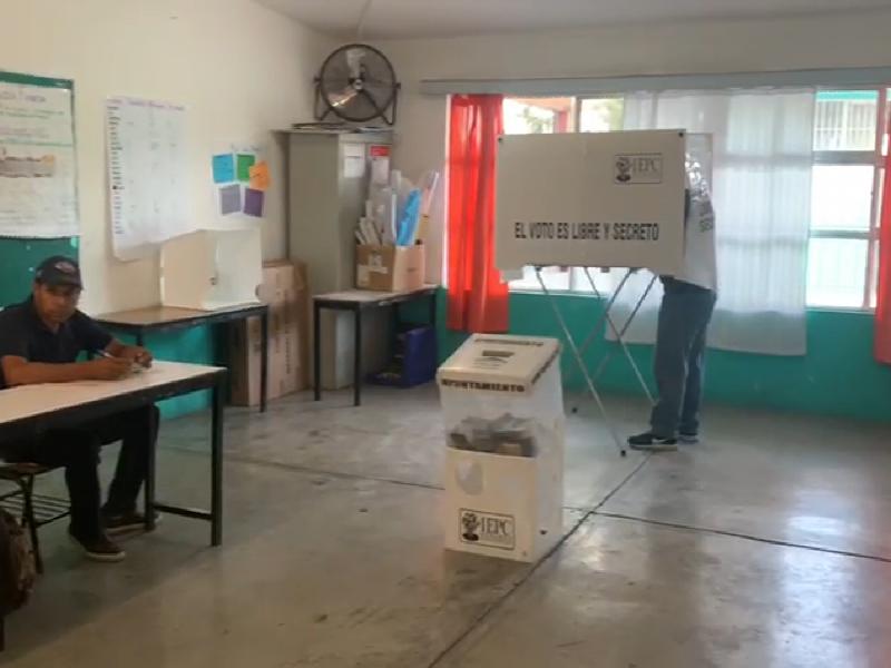Inicia jornada electoral con tranquilidad