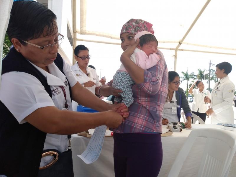 Inicia Jornada Nacional de Salud Pública en Tuxpan