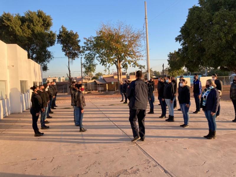 Inicia la academia policial en Cajeme