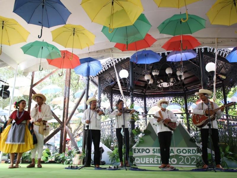 Inicia la Expo Sierra Gorda en Jalpan de Serra