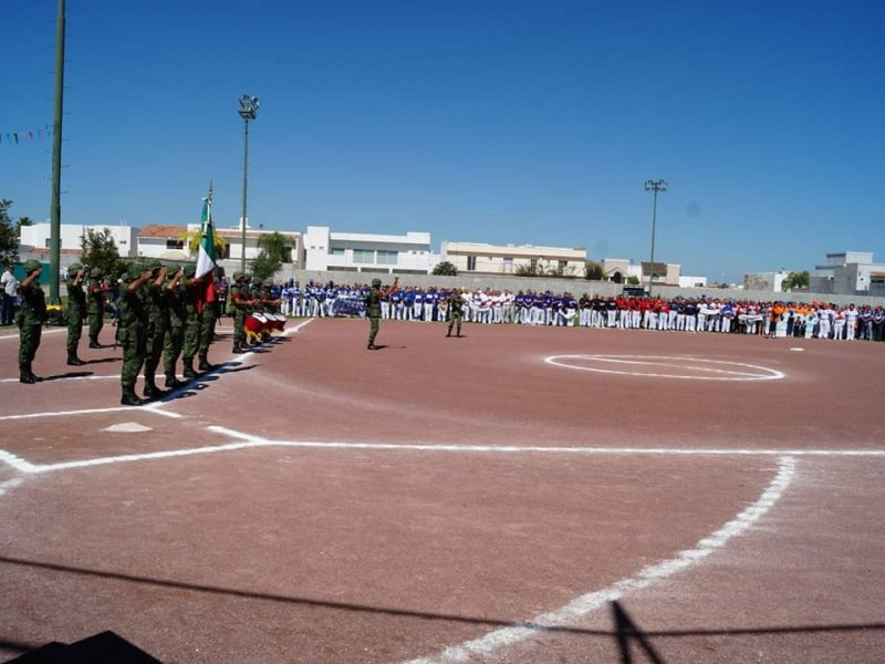 Inicia Nacional de Softbol Categorías Mayores