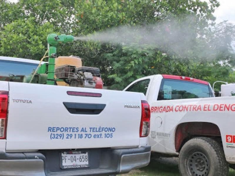 inicia nueva jornada de nebulización en BADEBA y Santiago Ixcuintla
