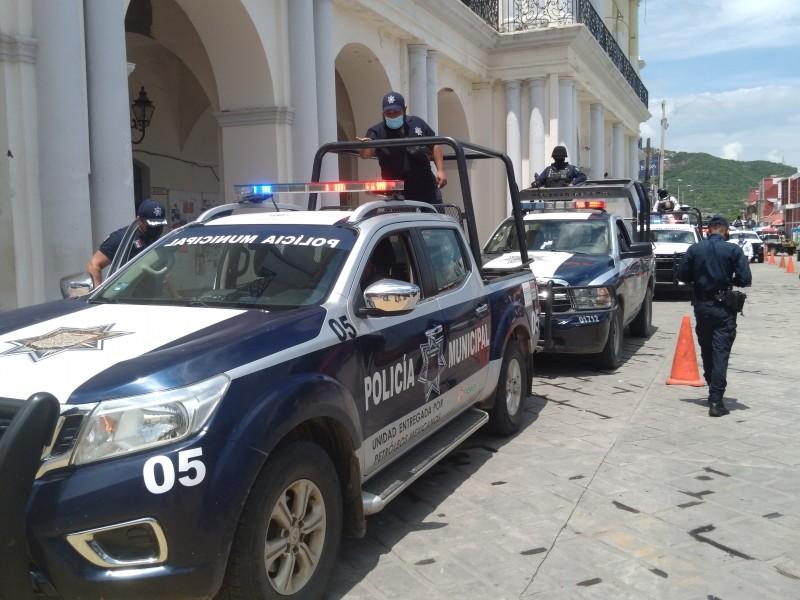 Inicia operativo de seguridad en Tehuantepec ante ola de asaltos