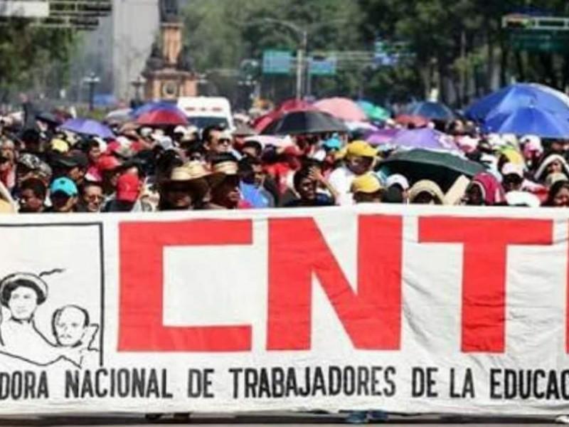 Inicia paro de la CNTE el 4 de junio