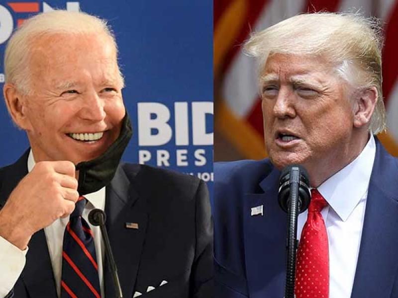Inicia primer debate Presidencial entre Trump y Biden