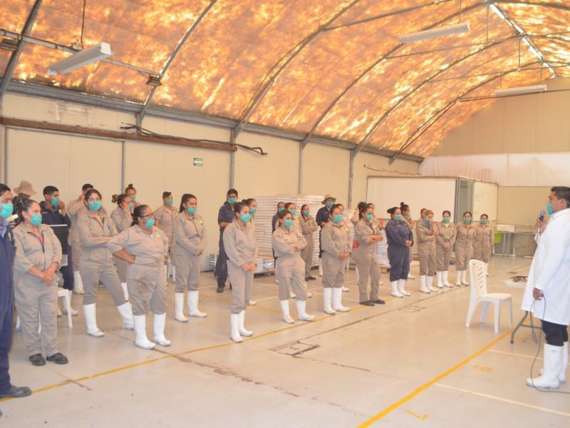 Inicia programa de prevención del Covid-19 en empresas de Cuauhtémoc