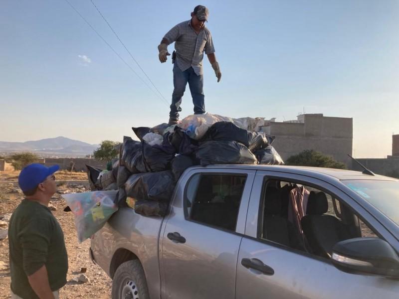 Inicia programa de recolección de residuos solidos en Fresnillo