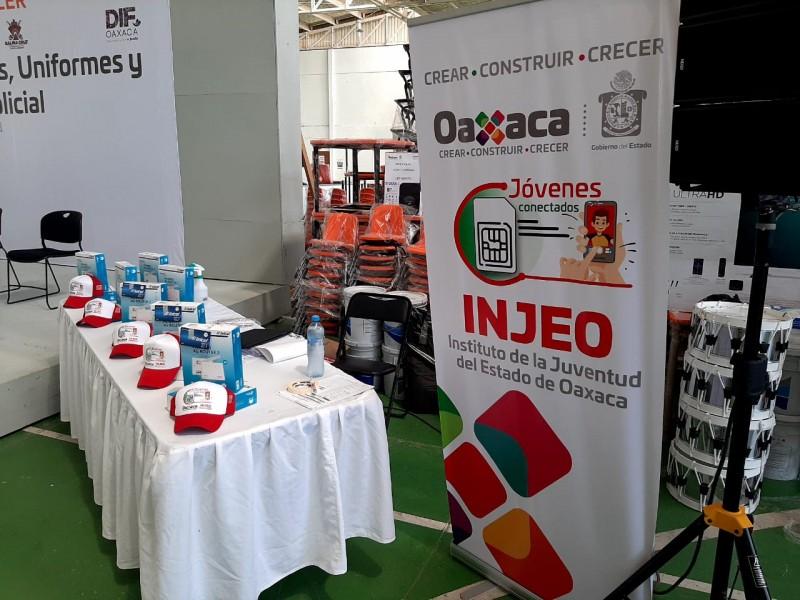 """Inicia programa """"Jóvenes Conectados"""" en Oaxaca; internet gratuito a estudiantes"""