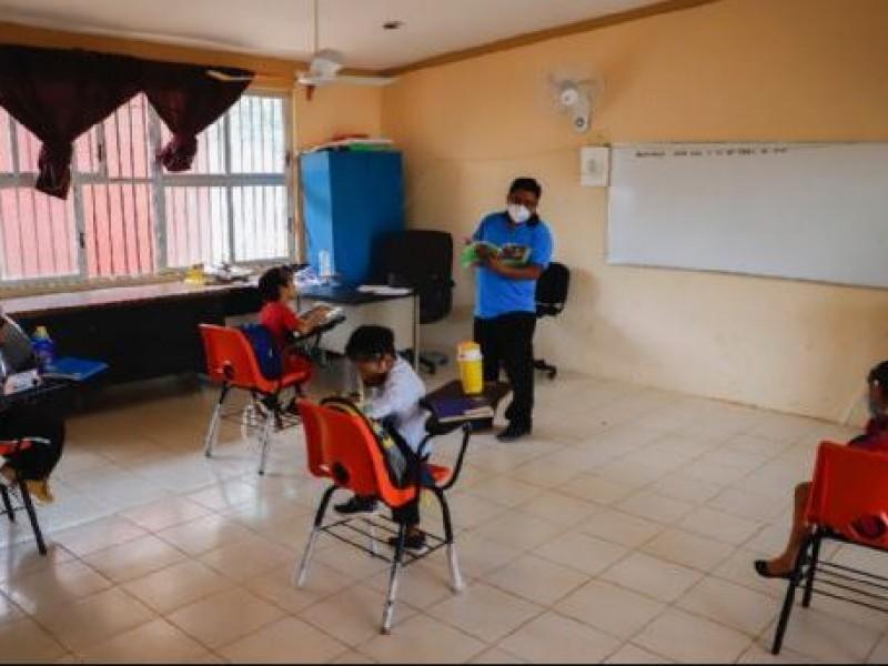 Inicia prueba piloto de regreso a clases presenciales en Campeche