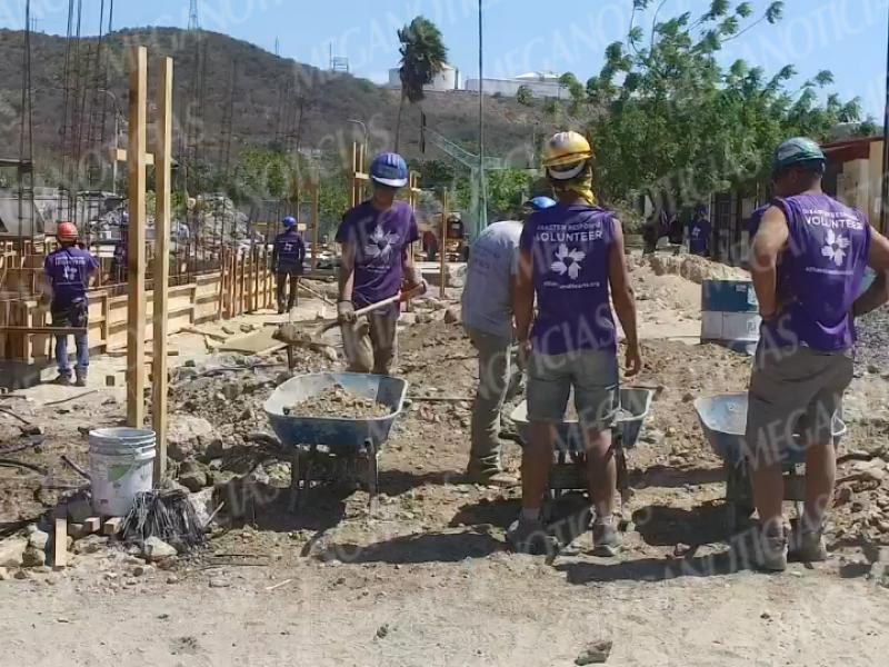 Inicia reconstrucción educativa en las Salinas del Marqués