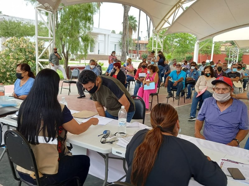 Inicia registro para pensiones de adultos mayores en Gómez Palacio