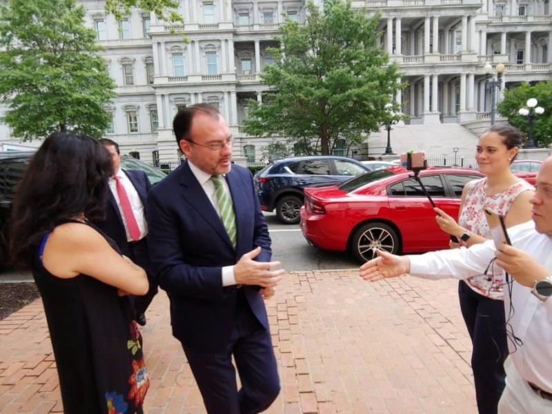 Inicia renegociación de TLCAN en Washington