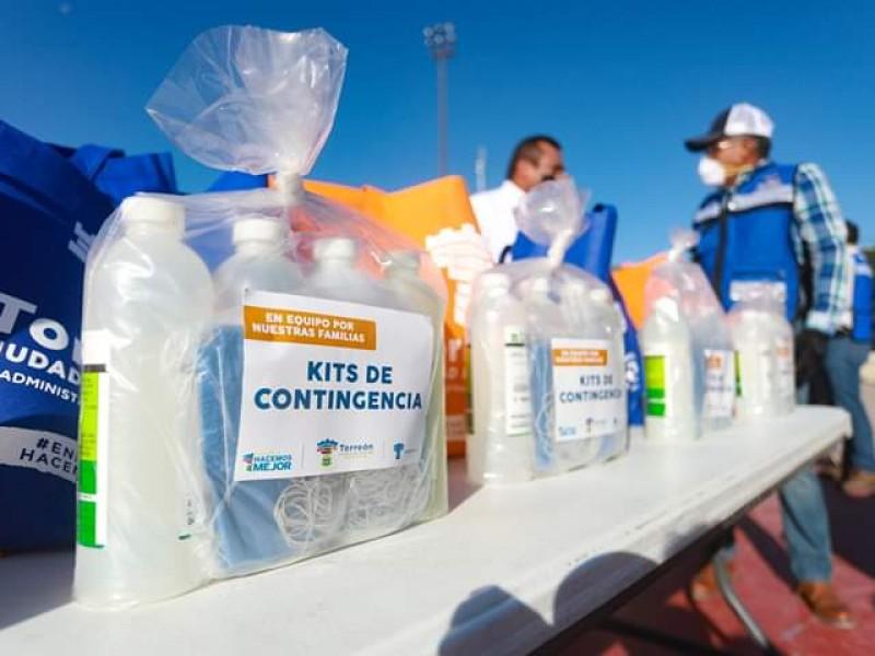Inicia repartición de despensas por emergencia sanitaria en Torreón
