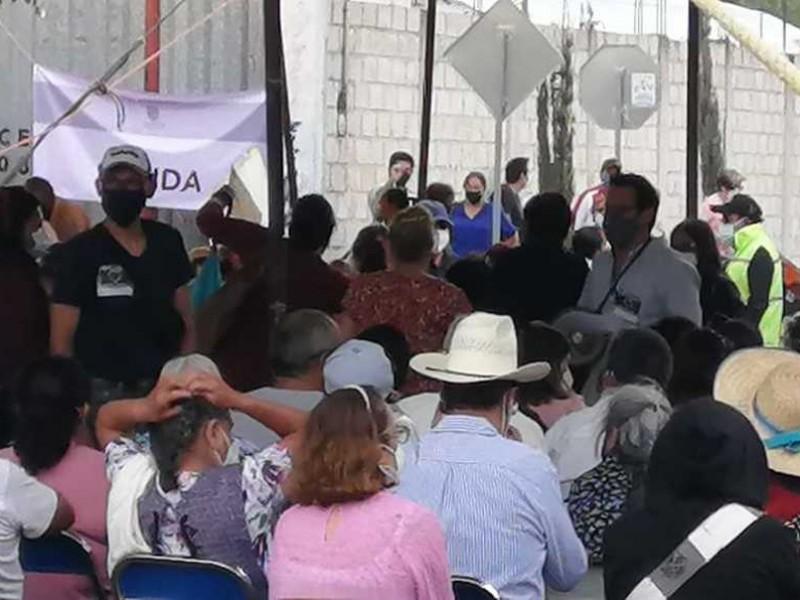 Inicia vacunación adultos 50-59 en zona conurbada de Puebla