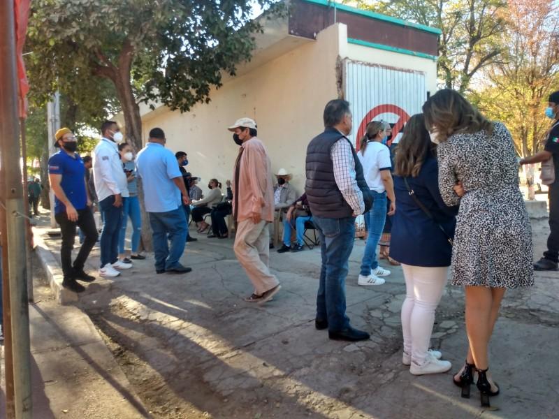 Inicia vacunación Covid-19 para adultos mayores en Salvador Alvarado