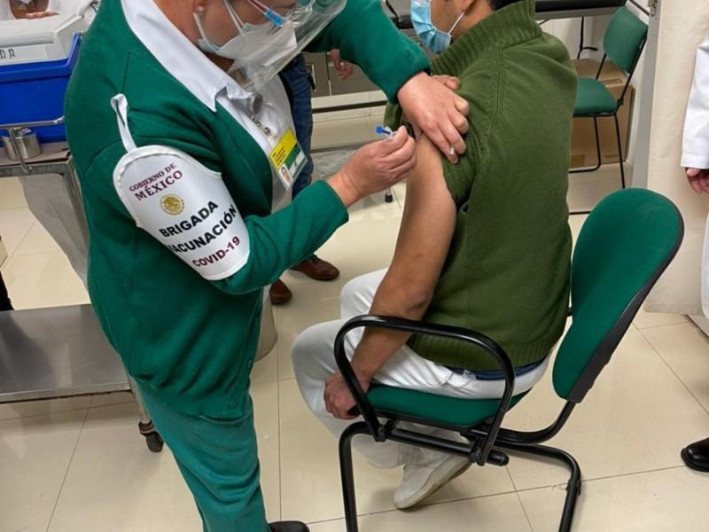 Inicia vacunación covid en el IMSS Oaxaca
