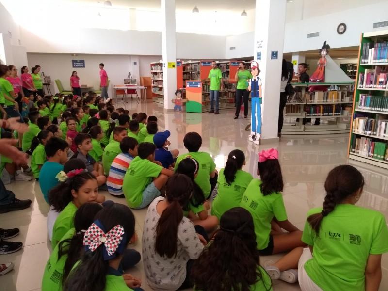 Inicia verano animado en biblioteca pública de Ahome