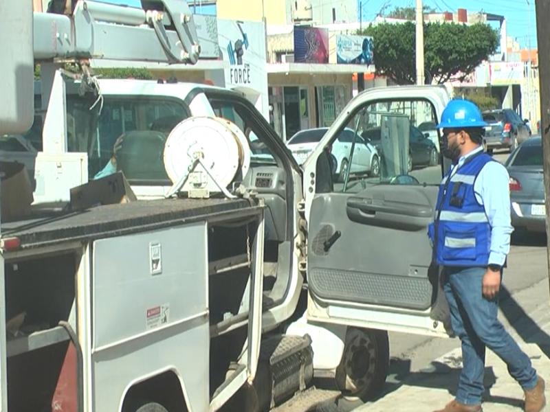 Inician barrido para rehabilitar lámparas LED dañadas en Guasave