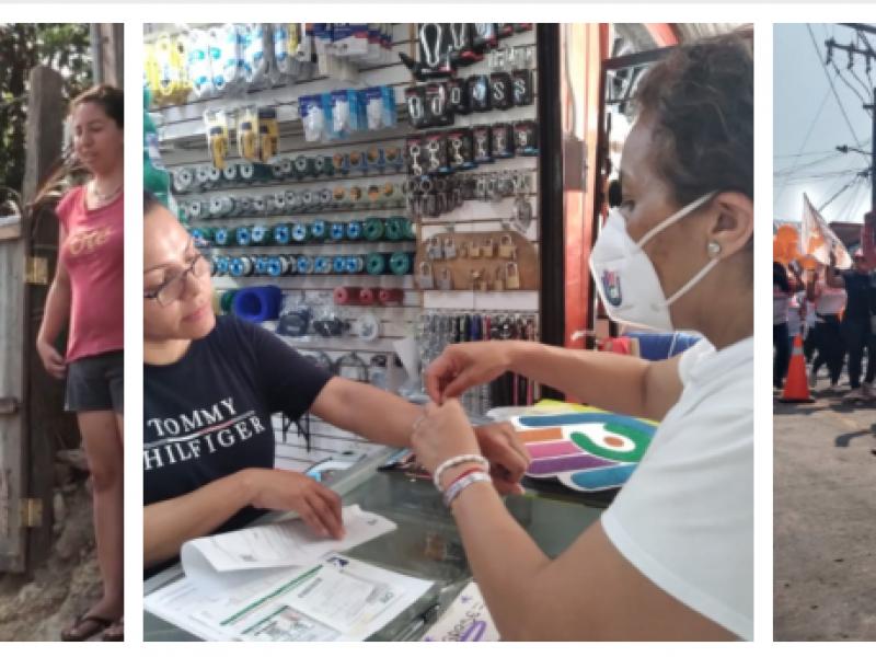 Inician campañas electorales en Tuxpan