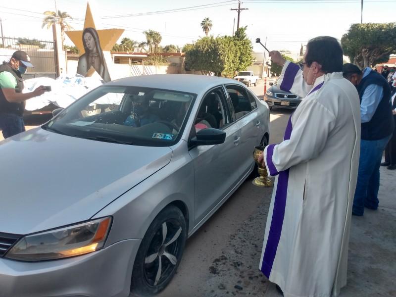 Inician caravanas en honor a la virgen de Guadalupe