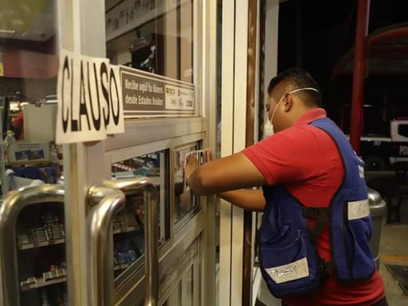 Inician clausura de establecimientos que no respeten medidas sanitarias: Tehuantepec